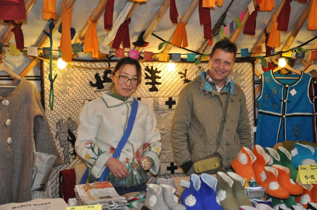 trade fair yak wool Mongolian Handicrafts