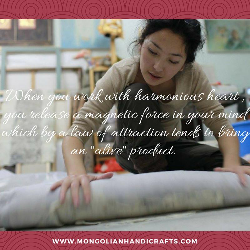 Mongolian Handicrafts yaks wool sheep camel fair trade natural products buy shop